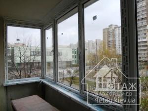 """Остекления """"Г-образного"""" балкона в компании 4 этаж"""