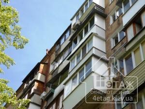 Выгодные предложения компании 4 этаж по выносу балконов