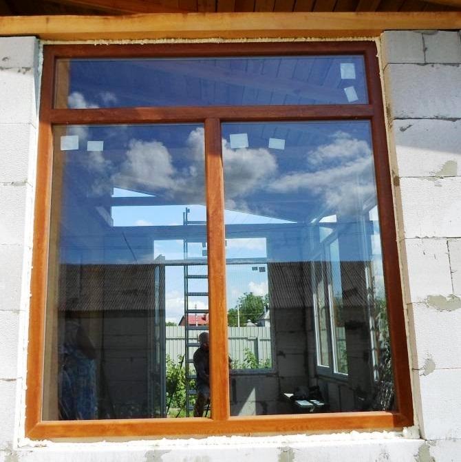 """Ламинированный окна компания """"4 этаж"""""""