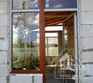 Ламинированные окна и двери WDS - оконная фирма