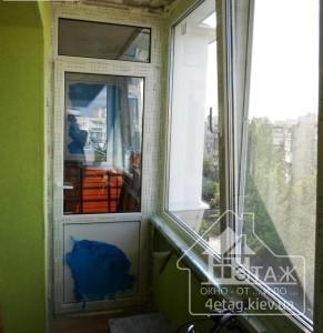Варианты оригинального остекления балкона Чешка от фирмы