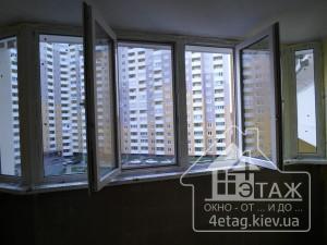 Скидки на остекление балконов Киев - компания 4 ЭТАЖ