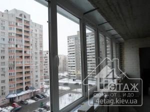 Застеклить лоджию в Киеве, низкая цена!