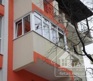 Остекление балкона в Ирпене - оконная компания