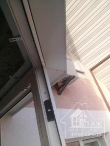 Окна на балкон комплектация козырьками - компания