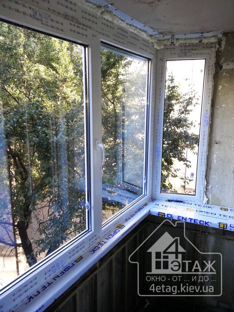 Застекление балкона металлопластиковыми окнами видео. - деше.
