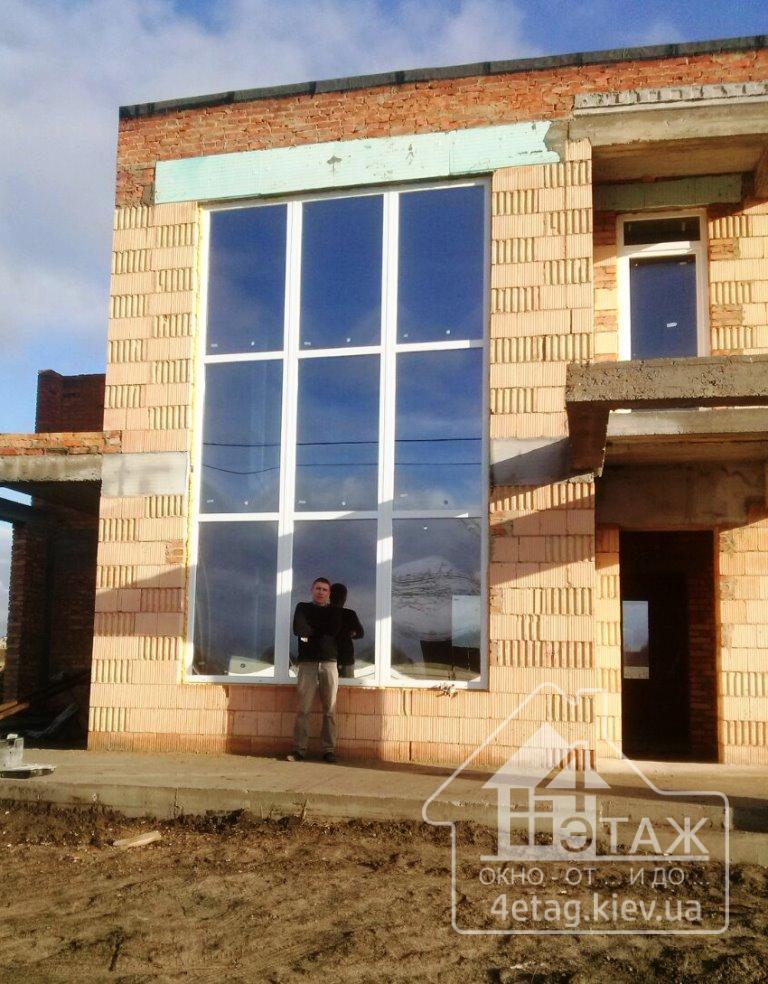 Окна для дачи в Киеве – теплый уют и легкий уход