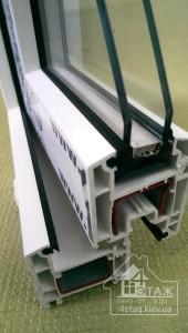 Энергосберегающие окна REHAU 60 - трёхкамерная ПВХ система