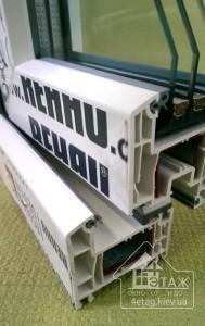 Металлопластиковые окна Rehau Ecosol 70 - пятикамерная ПВХ система